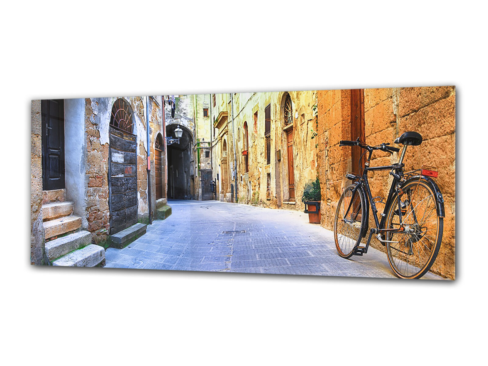 Glass Print Wall Art 80x30 cm Image on Glass Decorative Wall Picture 77612673