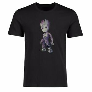 Men T-shirt's Funny I Am Baby Groot Graphic Tee Shirt Cotton Short Sleeve top