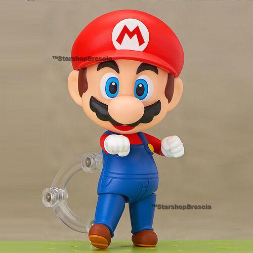 SUPER Mario - Mario Nendoroid Figura De Acción Good Smile Company
