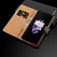 Luxe-Veritable-Genuine-Leather-Wallet-Case-Flip-antichoc-stand-Magnetique-Fonction miniature 18