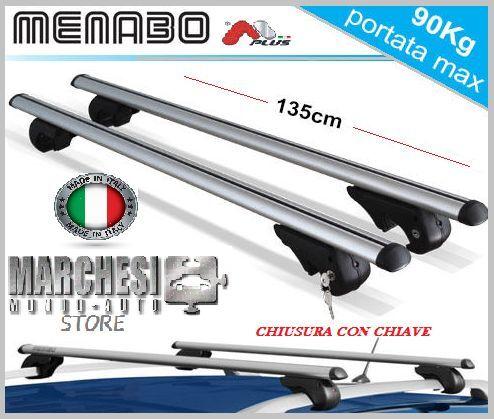 BARRE PORTATUTTO PORTAPACCHI SEAT ALHAMBRA 2000-/>2010 RAILS E CHIAVE ANTIFURTO
