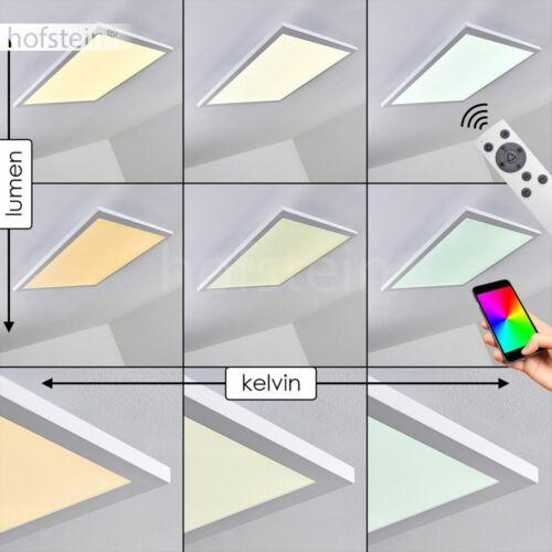 Smart Home Decken Lampen RGB LED Dimmer Wohn Schlaf Zimmer Leuchte Fernbedienung
