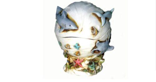 Harmony Kingdom art Neil Eyre EyreDesigns Mermaid Dolphin Sea Turtle Shark Box