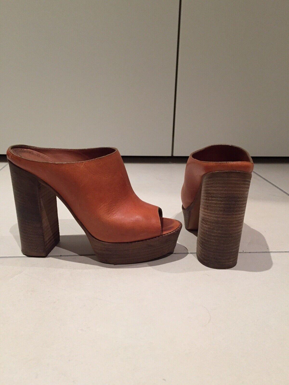 CHLOE Original Pumps Große 37,5 Damen Schuhe Leder