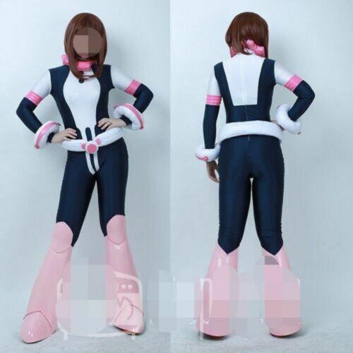 My Hero Academia Ochako Uraraka Cosplay Jumpsuit Costume WIth
