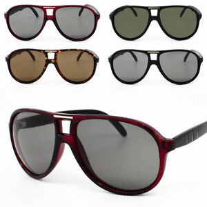 5be1f57388737c Das Bild wird geladen Mode-Piloten-Sonnenbrille-Vintage-Traenenform-Herren- Damen-Brillen-