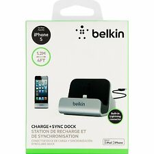 Belkin-Apple-Certified-MIXIT-Charge & Sync-Dock Lightning-USB iPhone 7,6,5 Plus!