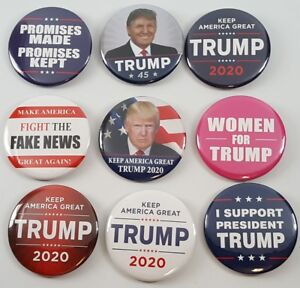 TRUMP  2020 ELECTION  PRESIDENT CAMPAIGN PIN   //