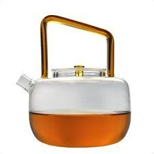 Cunzhai Galss Teapot 30 Oz Tea Maker Stovetop Safe Tea Kettle