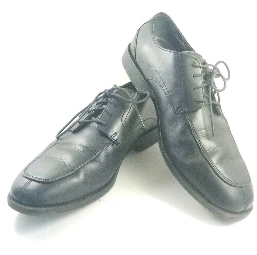 Stacy Adam's Oxfords Men's Dress Sz 8M Black Leather Dress Men's Shoes (tu36) 652954