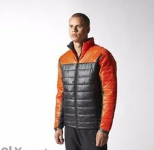 Adidas Performans Casaco Padded Black Orange Red Winter Jacket Size 2XL New 362