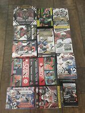 Lot of 7 Football Packs 2000-2020 Possible Brady, Brees, Herbert, Lamar, Mahomes