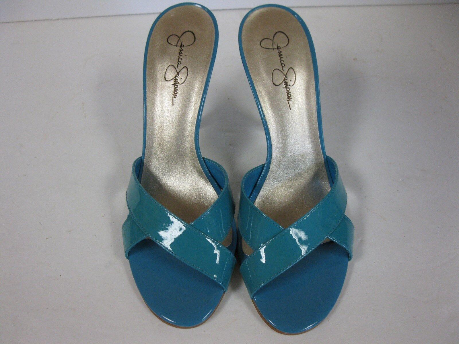 4828d03168d Jessica Simpson bluee Marine Tieve Slides Size 10 Medium povwvz1584 ...