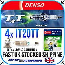 4x DENSO IT20TT IRIDIUM TT SPARK PLUGS FOR FORD FIESTA V ST150 03.05-06.08