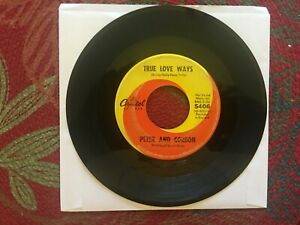 True Love Ways/If You Wish/Peter & Gordon/45rpm/Capitol Cecords-1965
