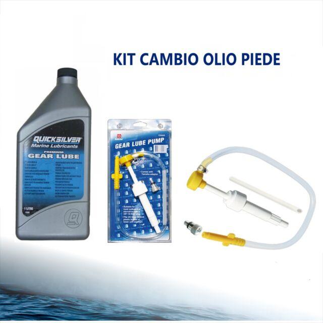 OSCULATI Kit Cambio Olio con tanica 12 V
