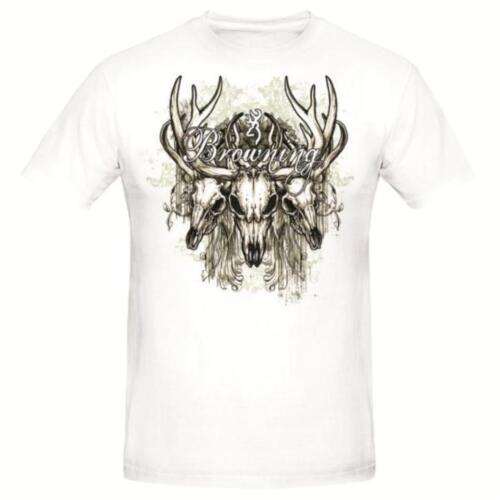 Shirt Browning  Youth Vintage Deer Skull T