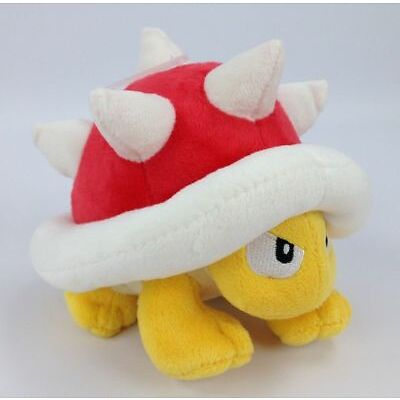 Super Mario Bros Spiny Spinies Plush Doll Stuffed Toy 6 inch Christmas Gift US
