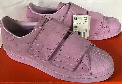 Adidas Superstar 80s CF B28043 Lilac Leather Hook Strap Sneakers Shoes Women's 7 191039045398 eBay    Adidas Superstar 80s CF B28043 Lilla læderkrogstrop sneakers sko kvinder 7 191039045398   title=          eBay