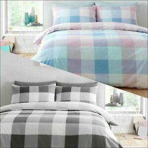 Cosmic-cheque-Luxuries-Impreso-Funda-Nordica-Reversible-Funda-de-almohada-Juego-de-cama-GC