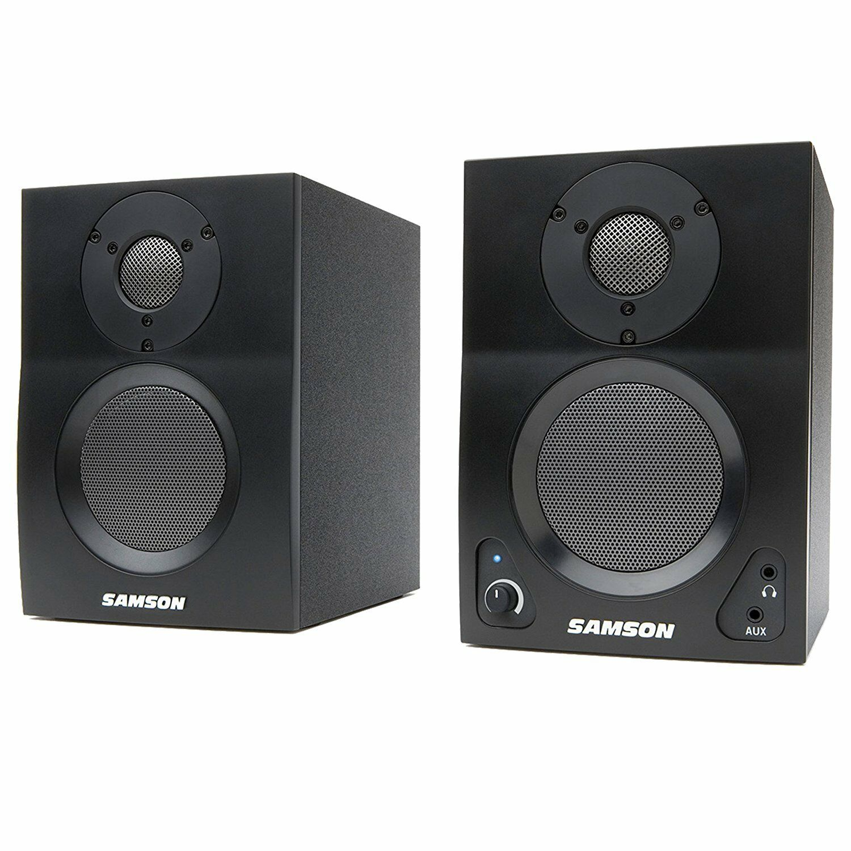 Samson MediaOne BT3 BT3 BT3 3  monitores alimentado con azultooth (B-Stock) 689b6a