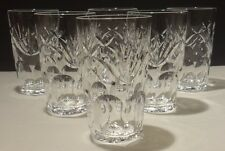 """6 WATERFORD ASHLING 12 OUNCE TUMBLERS ~ MINT ~ MADE IN IRELAND ~ 5 1/8"""""""
