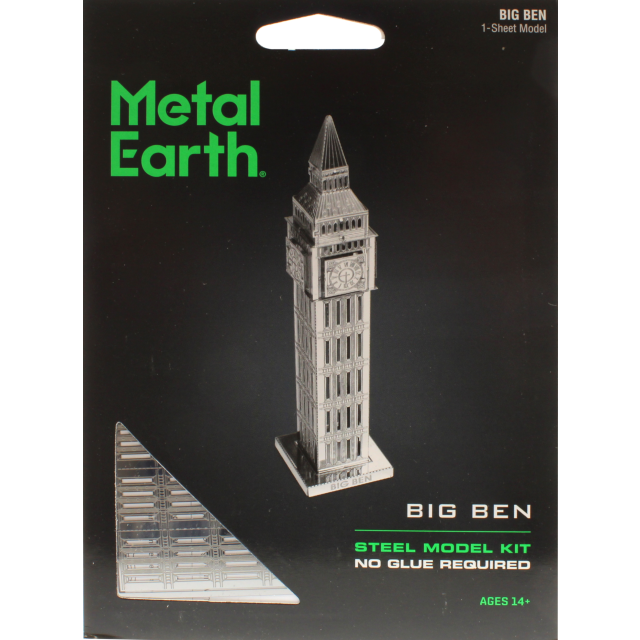Metal Earth Iconx Big Ben