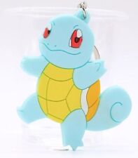 Pokemon Squirtle Soft Rubber Keychain Double Sided 3 Inches US Seller
