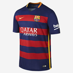 4aabe435de5 Image is loading NIKE-FC-BARCELONA-HOME-JERSEY-2015-16
