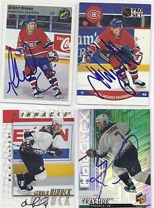 J-J-Daigneault-Signed-Autographed-Hockey-Card-Montreal-1990-Pro-Set