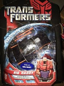 Transformers Movie Deluxe Big Daddy Walmart Exclusive Misb 653569314967
