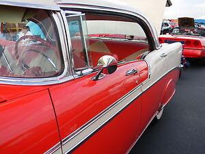 2 1955 1956 1957 1958 1959 1960 Cadillac outside door Mirrors Pair