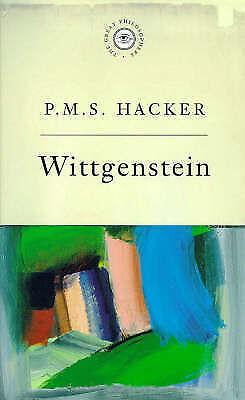 1 of 1 - The Great Philosophers: Wittgenstein, Hacker, Peter | Paperback Book | Acceptabl