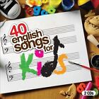 40 English Songs For Kids [Box] by Various Artists (CD, 2011, 2 Discs, Evolution)