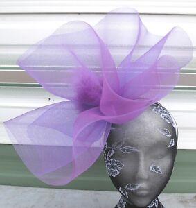 purple-feather-fascinator-millinery-burlesque-headband-wedding-hat-hair-piece