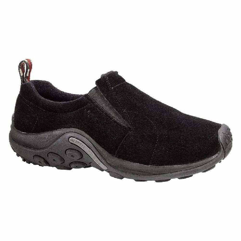 Merrell Jungle Moc chaussures femme chaussures Slip Ons-Minuit Toutes Tailles