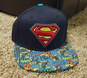 SUPERMAN vs Batman JUSTICE LEAGUE JLA movie COMIC Book alien New Men/'s HAT Cap