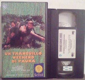 VHS-FILM-Ita-Azione-UN-TRANQUILLO-WEEK-END-DI-PAURA-burt-reynolds-no-dvd-VS3