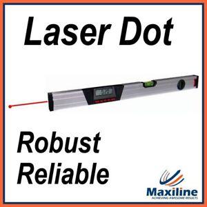 600MM-Aluminium-Digital-Spirit-Level-with-Inclinometer-Laser-Dot-Robust-Level