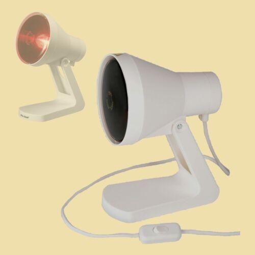 Efbe Schott Infrarot-Lampe SC IR 812 ZS mit Schalter Rotlichtlampe 150 Watt
