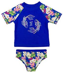 44b2f2485c Tommy Bahama Girls 2 pc Don t Be Koi Guard   Swim Bottoms Set