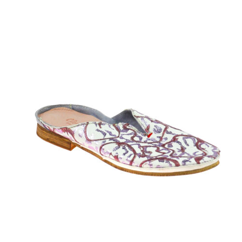 Sandalo Taglia Charme Viola 37 Bianco da Sandalo in donna pelle Viola TUqO1xwUd