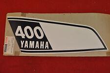 NOS 1975-76 Yamaha DT400 LEFT Fuel Tank Decal, DT 400