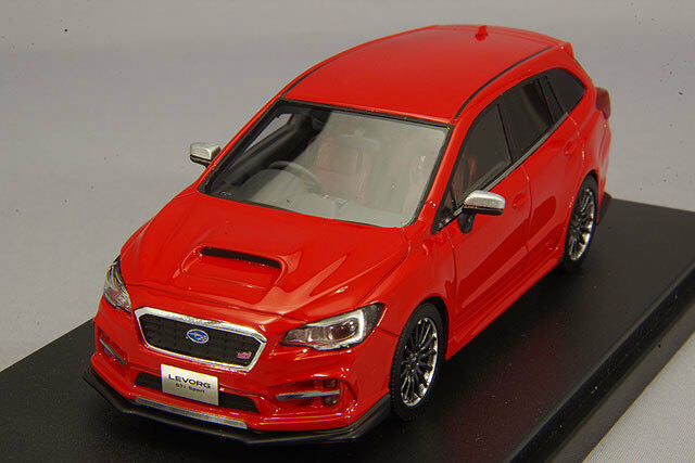 1 43 Hi-Story Subaru Revor 2.0 STI Sports Eye Site 2016 Pure Red HS201RE