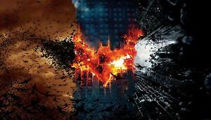 Batman-Logo-De-Murcielago-Nolan-Top-peliculas-DC-Comics-Pared-Arte-Impresiones-De-Lienzo-Cuadro