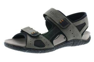 Trekking Sandalen 25084 24 Rieker Klettverschluss Schuhe