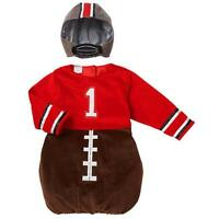 Koala Kids Brown/red Football Player Infant Dress Up Costumesz: 12-18 Mos