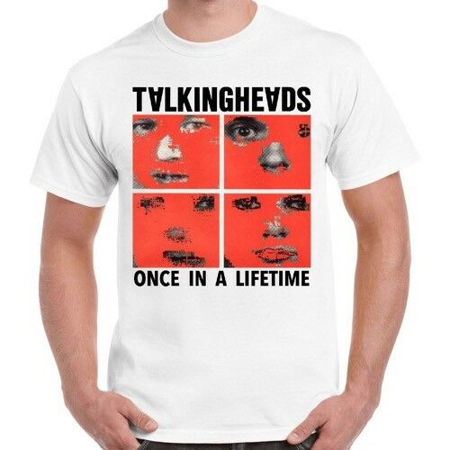 Talking Heads One In A Life Time Punk Rock Retro T Shirt 181