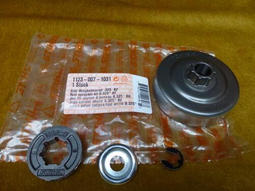 """Nuevo original Stihl MS 210 230 250 juego de anillo rueda dentada 0,325/"""" 8z 1123 007 1031"""