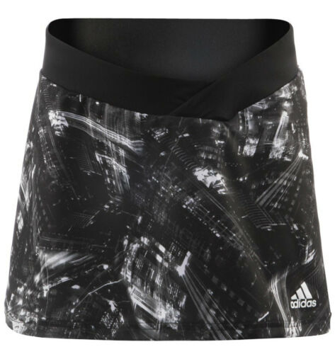 Genuine Adidas Girls Tennis Response Skort Integrated Tights Attached